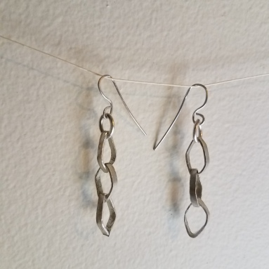 Three Leaves earrings